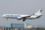 ユージ@RJTYさんが、横田基地で撮影したウエスタン・グローバル・エアラインズ MD-11Fの航空フォト(写真)