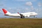 マスターMさんが、グアム国際空港で撮影した日本航空 747-446の航空フォト(写真)