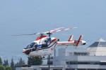 蒼い鳩さんが、松本空港で撮影した朝日新聞社 MD 900/902の航空フォト(写真)