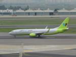ねこすけさんが、金浦国際空港で撮影したジンエアー 737-8Q8の航空フォト(写真)