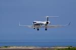 じーのさんさんが、八丈島空港で撮影した海上保安庁 G-V Gulfstream Vの航空フォト(写真)
