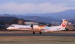 ローリーさんが、松山空港で撮影した日本エアコミューター DHC-8-402Q Dash 8の航空フォト(写真)