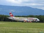 yusuke@HNDさんが、ジュネーヴ・コアントラン国際空港で撮影したスイスインターナショナルエアラインズ BD-500-1A11 CSeries CS300の航空フォト(写真)