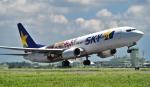 kamerajiijiさんが、茨城空港で撮影したスカイマーク 737-86Nの航空フォト(写真)