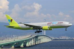 キイロイトリ1005fさんが、関西国際空港で撮影したジンエアー 777-2B5/ERの航空フォト(写真)