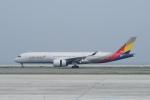 pringlesさんが、関西国際空港で撮影したアシアナ航空 A350-941XWBの航空フォト(写真)