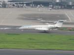 flyflygoさんが、羽田空港で撮影したアメリカ企業所有 G500/G550 (G-V)の航空フォト(写真)