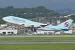 K.787.Nさんが、福岡空港で撮影した大韓航空 747-4B5の航空フォト(写真)