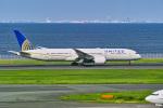 delawakaさんが、羽田空港で撮影したユナイテッド航空 787-9の航空フォト(写真)
