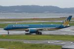神宮寺ももさんが、関西国際空港で撮影したベトナム航空 A350-941XWBの航空フォト(写真)