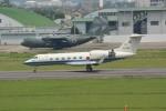 シュウさんが、名古屋飛行場で撮影した航空自衛隊 U-4 Gulfstream IV (G-IV-MPA)の航空フォト(写真)