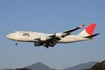 kansaigroundさんが、福岡空港で撮影した日本航空 747-446の航空フォト(写真)