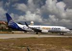 Bokuranさんが、プリンセス・ジュリアナ国際空港で撮影したコパ航空 737-8V3の航空フォト(写真)