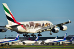 パンダさんが、成田国際空港で撮影したエミレーツ航空 A380-861の航空フォト(写真)
