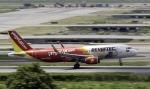 planetさんが、スワンナプーム国際空港で撮影したベトジェットエア A320-214の航空フォト(写真)
