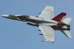 banshee02さんが、茨城空港で撮影したアメリカ海兵隊 F/A-18C Hornetの航空フォト(写真)