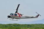 Gambardierさんが、岡南飛行場で撮影した朝日航洋 204B-2(FujiBell)の航空フォト(写真)