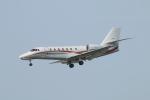 カンタさんが、新潟空港で撮影した朝日航洋 680 Citation Sovereignの航空フォト(写真)