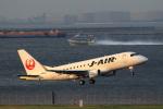 こだしさんが、羽田空港で撮影したジェイ・エア ERJ-170-100 (ERJ-170STD)の航空フォト(写真)