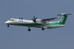 ゴンタさんが、新潟空港で撮影したANAウイングス DHC-8-402Q Dash 8の航空フォト(写真)