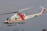 ゴンタさんが、新潟空港で撮影した朝日航洋 412の航空フォト(写真)