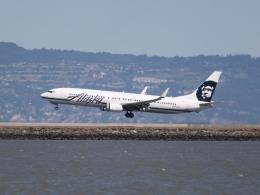 職業旅人さんが、サンフランシスコ国際空港で撮影したアラスカ航空 737-990/ERの航空フォト(写真)