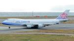 誘喜さんが、関西国際空港で撮影したチャイナエアライン 747-409F/SCDの航空フォト(写真)