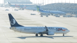 誘喜さんが、関西国際空港で撮影した山東航空 737-85Nの航空フォト(写真)