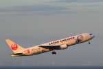 こだしさんが、羽田空港で撮影した日本航空 767-346/ERの航空フォト(写真)