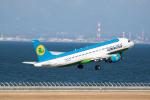 どりーむらいなーさんが、中部国際空港で撮影したウズベキスタン航空 A320-214の航空フォト(写真)