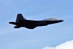 リックさんが、フェアフォード空軍基地で撮影したアメリカ空軍 F-22A Raptorの航空フォト(写真)