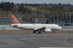 よしポンさんが、成田国際空港で撮影したトランスアジア航空 A320-232の航空フォト(写真)