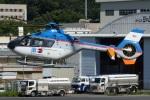 (`・ω・´)さんが、調布飛行場で撮影した東邦航空 EC135T1の航空フォト(写真)