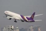 どりーむらいなーさんが、羽田空港で撮影したタイ国際航空 777-3D7の航空フォト(写真)