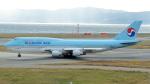 誘喜さんが、関西国際空港で撮影した大韓航空 747-4B5の航空フォト(写真)