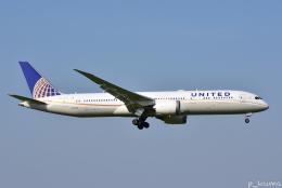 ぱん_くまさんが、成田国際空港で撮影したユナイテッド航空 787-9の航空フォト(写真)