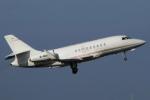 ウッディーさんが、羽田空港で撮影した不明 Falcon 2000LXの航空フォト(写真)