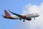 ★azusa★さんが、シンガポール・チャンギ国際空港で撮影したバティク・エア A320-214の航空フォト(写真)