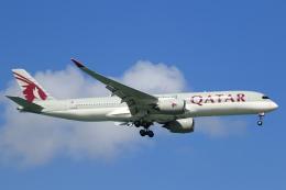★azusa★さんが、シンガポール・チャンギ国際空港で撮影したカタール航空 A350-941XWBの航空フォト(写真)