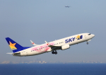 タミーさんが、羽田空港で撮影したスカイマーク 737-86Nの航空フォト(写真)