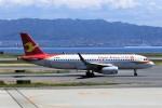 にしやんさんが、関西国際空港で撮影した天津航空 A320-232の航空フォト(写真)