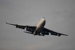 蒲田賢二さんが、羽田空港で撮影したカンタス航空 747-438の航空フォト(写真)