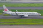 PASSENGERさんが、羽田空港で撮影した日本トランスオーシャン航空 737-8Q3の航空フォト(写真)