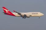 PASSENGERさんが、羽田空港で撮影したカンタス航空 747-438の航空フォト(写真)
