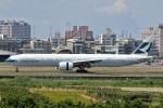 タヌキさんが、高雄国際空港で撮影したキャセイパシフィック航空 777-367/ERの航空フォト(写真)