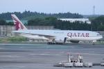 Wings Flapさんが、成田国際空港で撮影したカタール航空 777-2DZ/LRの航空フォト(写真)
