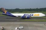 Wings Flapさんが、成田国際空港で撮影したアトラス航空 747-87UF/SCDの航空フォト(写真)