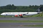 Wings Flapさんが、成田国際空港で撮影したスカンジナビア航空 A340-313Xの航空フォト(写真)