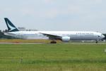 Wings Flapさんが、成田国際空港で撮影したキャセイパシフィック航空 777-367の航空フォト(写真)