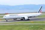 水月さんが、関西国際空港で撮影したエールフランス航空 777-328/ERの航空フォト(写真)